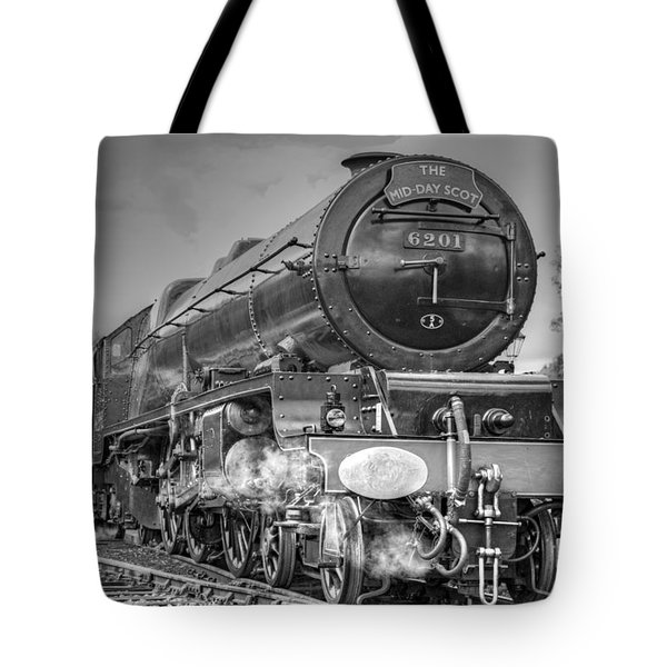Tote Bag featuring the photograph 6201 Princess Elizabeth At Swanwick by David Birchall