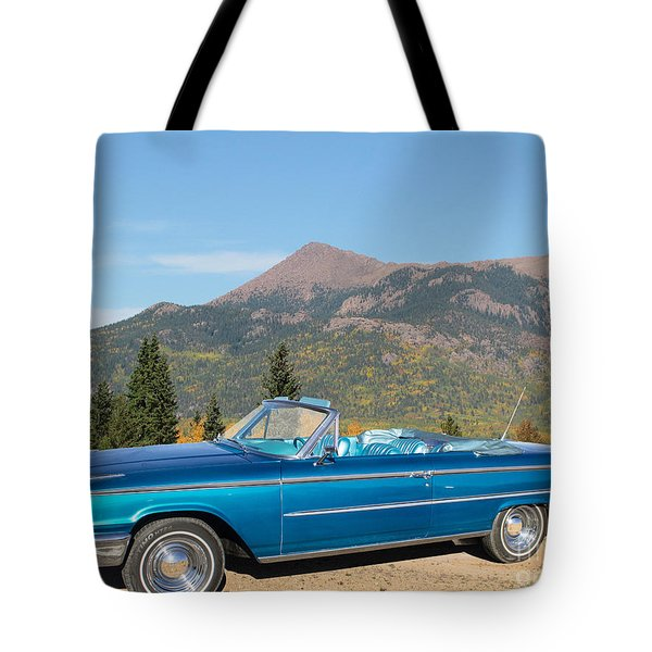 63 Ford Convertible Tote Bag