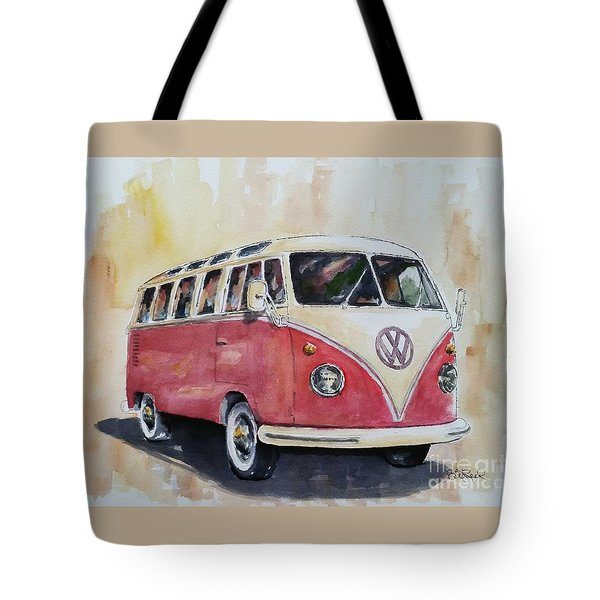 '63 V.w. Bus Tote Bag