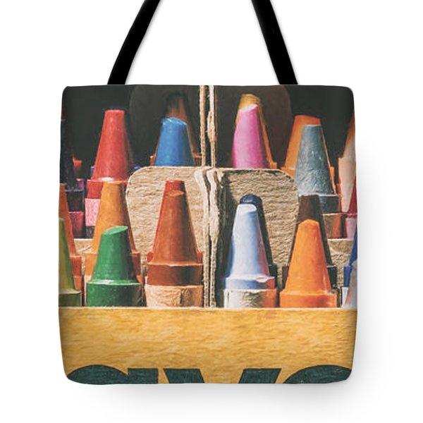 64 Colors Tote Bag