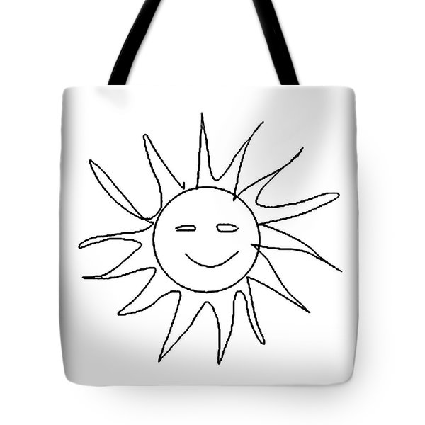 6.57.hungary-6-detail-sun-with-smile Tote Bag