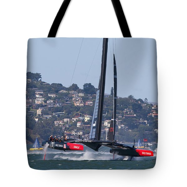 America's Cup 34 Tote Bag