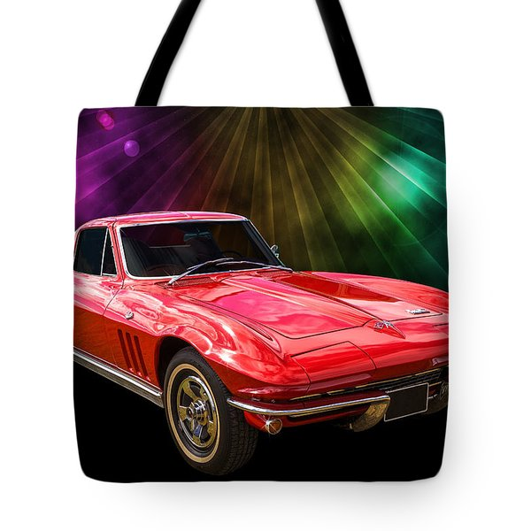 66 Corvette Tote Bag