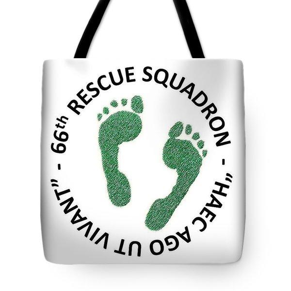 66th Rescue Squadron Tote Bag