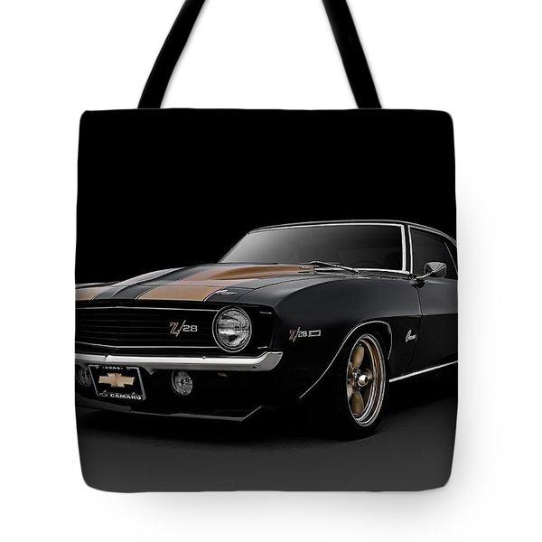 '69 Camaro Z28 Tote Bag