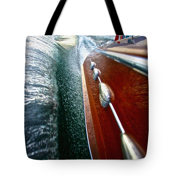 Riva Aquarama Tote Bag