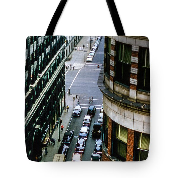 Tote Bag featuring the photograph 6th And Superior - Cleveland by Samuel M Purvis III