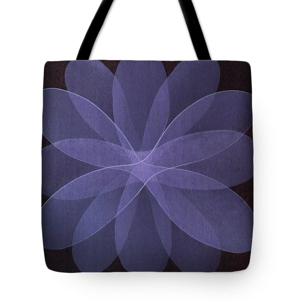 Abstract Flower  Tote Bag by Jitka Anlaufova