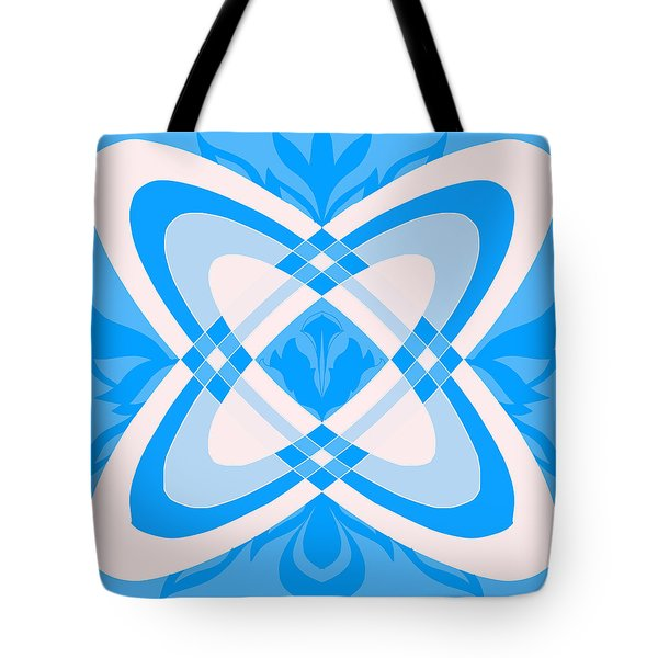 Interacting Galaxies Tote Bag