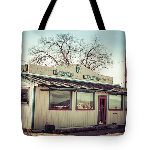7 Acres Cafe Tote Bag