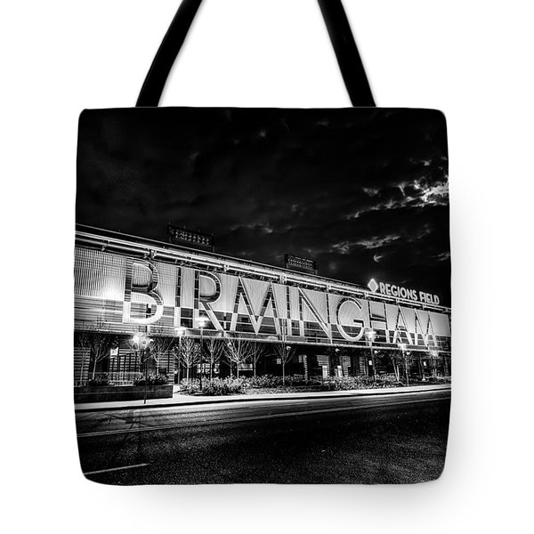 April 2015 - Birmingham Alabama Regions Field Minor League Baseb Tote Bag