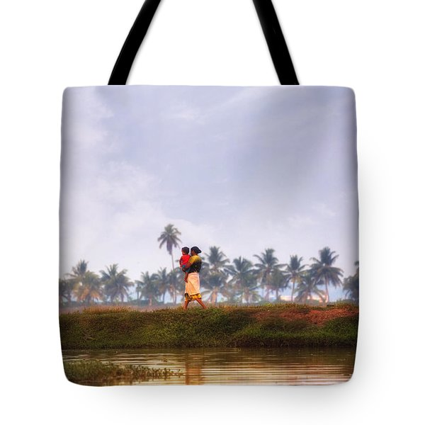Backwaters Kerala - India Tote Bag