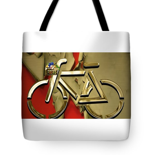 Bicycle Collection Tote Bag