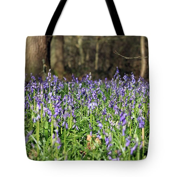 Bluebells At Banstead Wood Surrey Uk Tote Bag