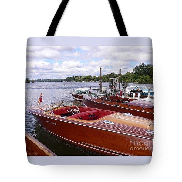Chris Craft Custom Tote Bag