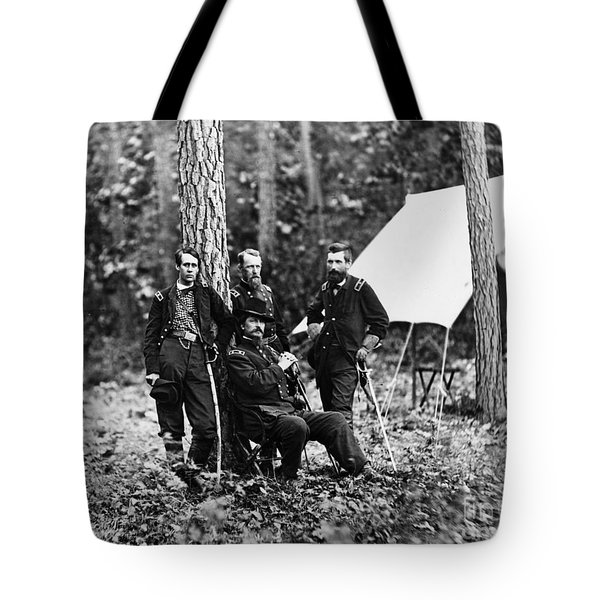 Civil War: Soldiers Tote Bag by Granger