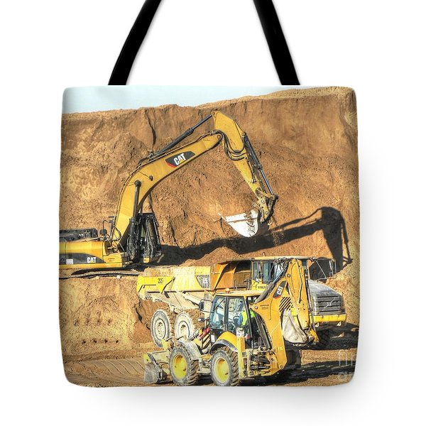 construction whsd Peterburg Tote Bag by Yury Bashkin