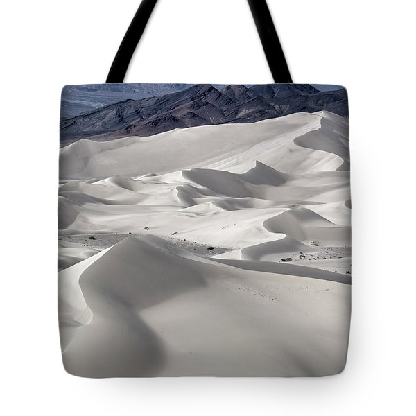 Tote Bag featuring the photograph Dumont Dunes 8 by Jim Thompson