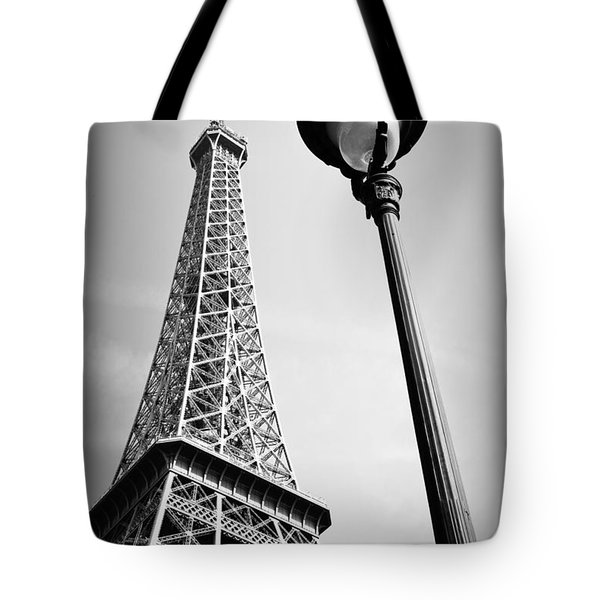 Tote Bag featuring the photograph Eiffel Tower by Chevy Fleet