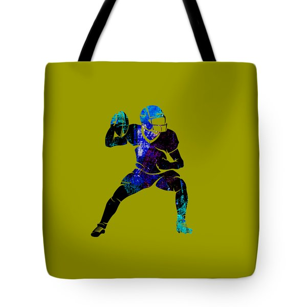 Football Collection Tote Bag by Marvin Blaine