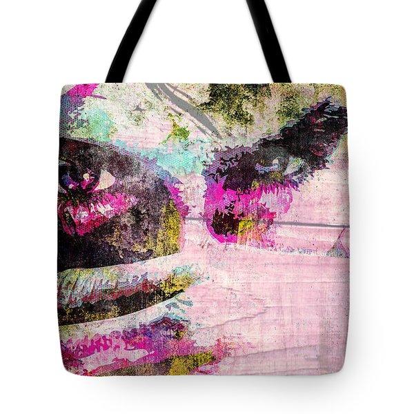 Ian Somerhalder Tote Bag by Svelby Art