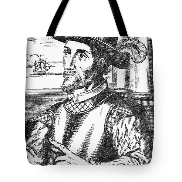 Juan Ponce De Leon Tote Bag by Granger