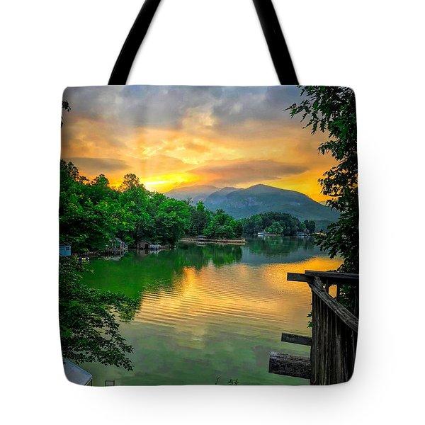 Lake Lure Tote Bag