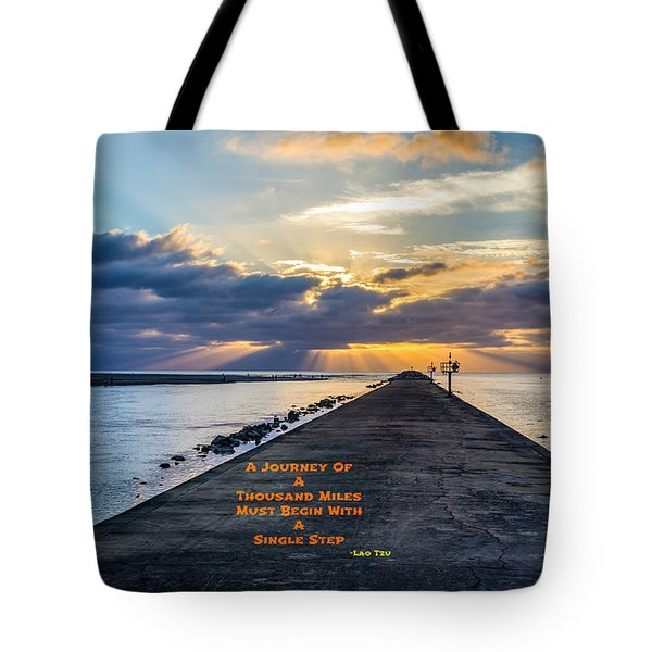 Lao Tzu Quote Tote Bag