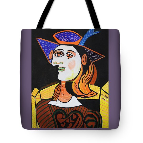 Hair Net  Picasso Tote Bag