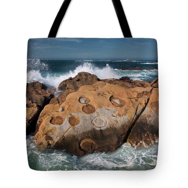 Point Lobos Concretions Tote Bag