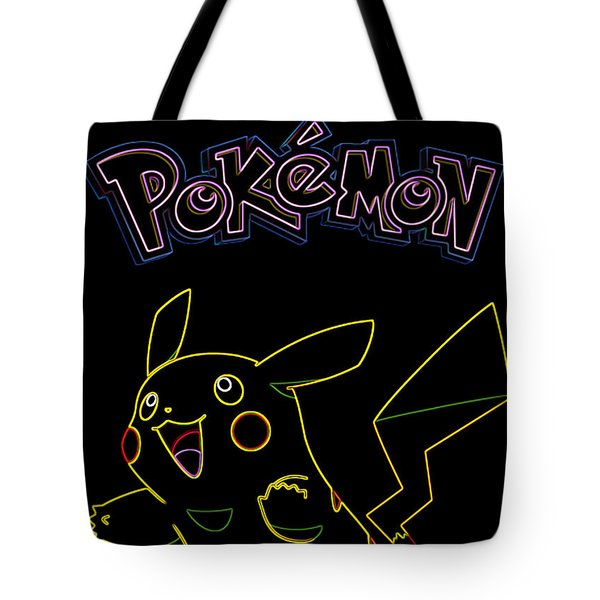 Pokemon - Pikachu Tote Bag by Kyle West