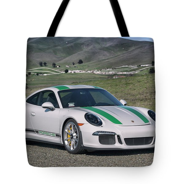 Tote Bag featuring the photograph #porsche #911r #print by ItzKirb Photography