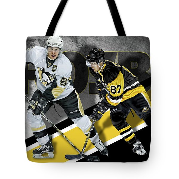 Tote Bag featuring the photograph Sidney Crosby by Don Olea