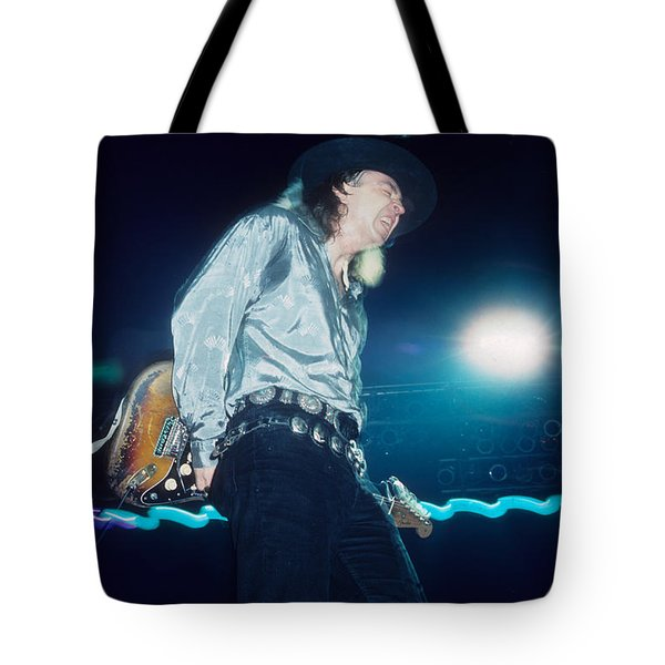 Stevie Ray Vaughan Tote Bag