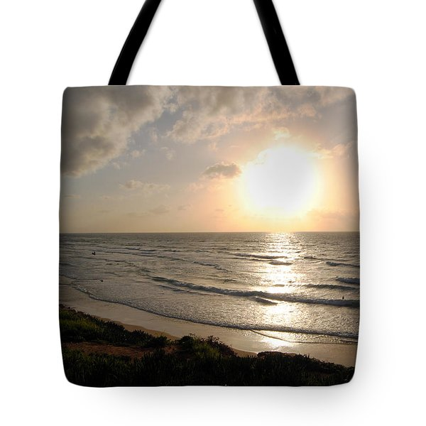Sunset At Jaffa Beach 10 Tote Bag