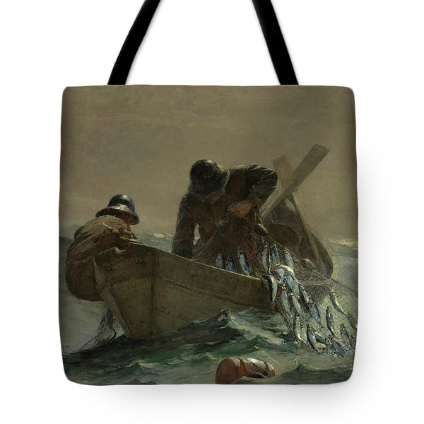 The Herring Net Tote Bag