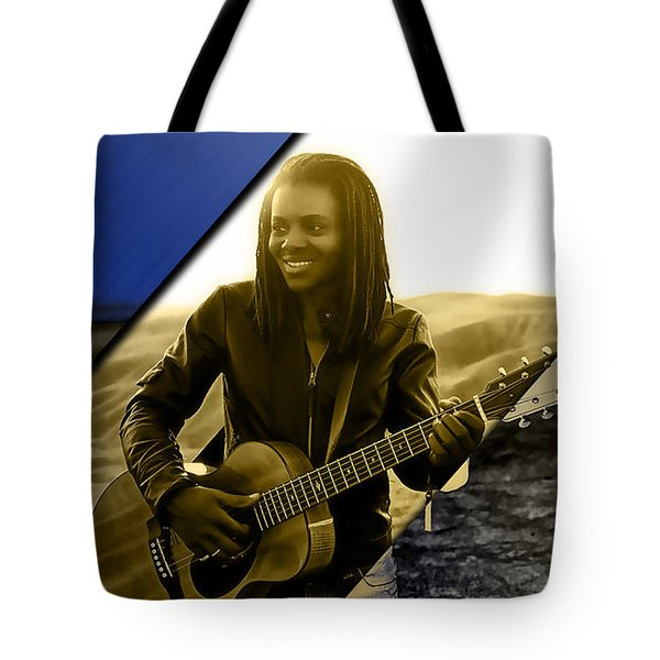 Tracy Chapman Collection Tote Bag by Marvin Blaine
