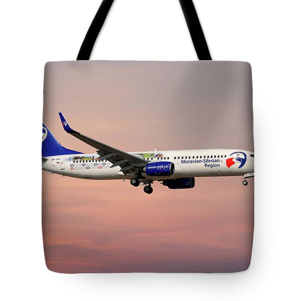 Travel Service Boeing 737-8cx Tote Bag