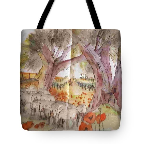 Trees Trees Trees Album Tote Bag