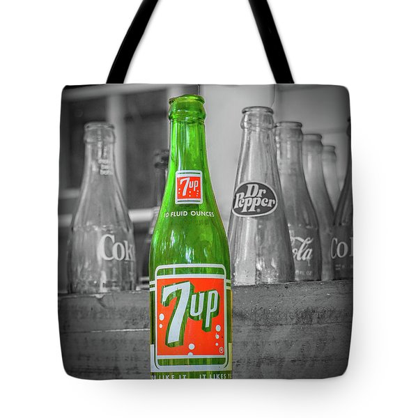 7 Up Tote Bag
