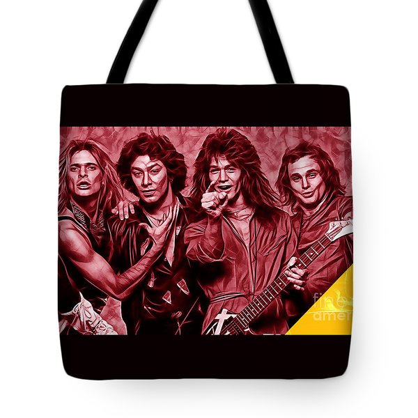 Van Halen Collection Tote Bag by Marvin Blaine