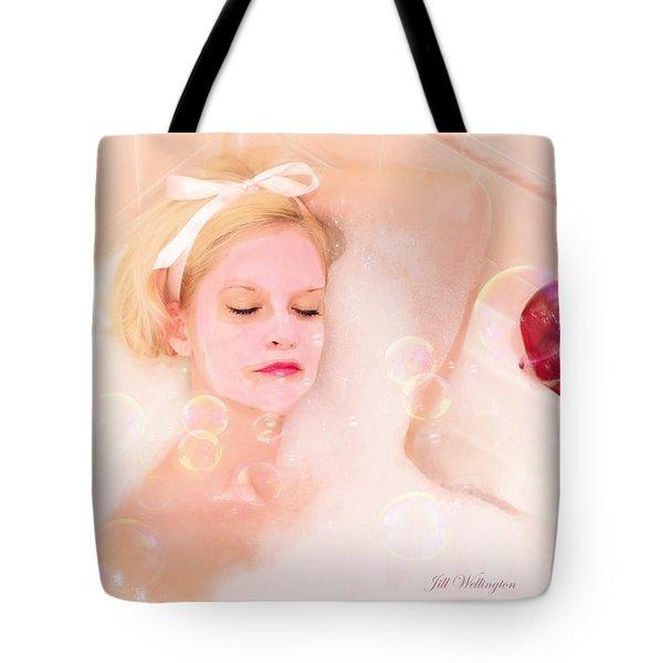 Vintage Valentine Date Tote Bag