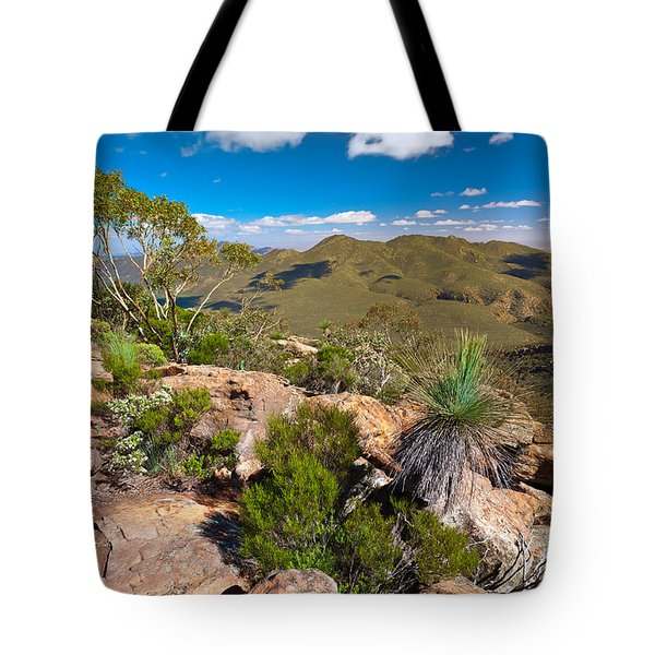 Wilpena Pound Tote Bag by Bill  Robinson