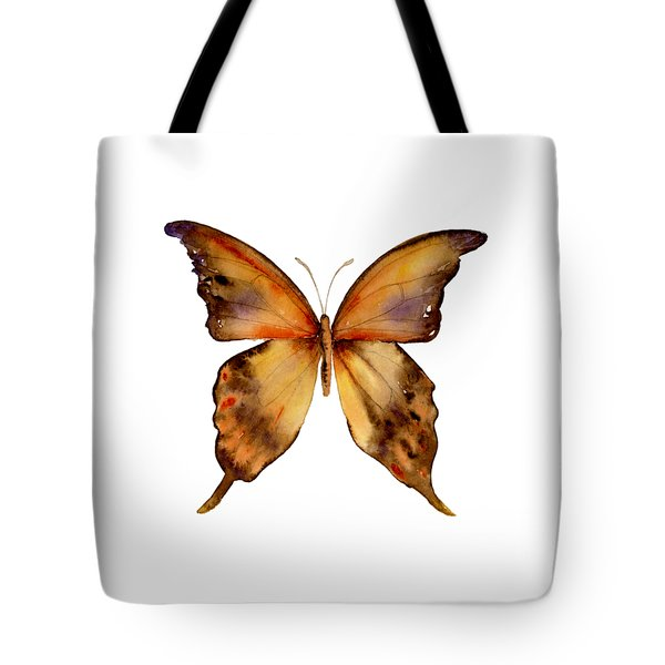 7 Yellow Gorgon Butterfly Tote Bag