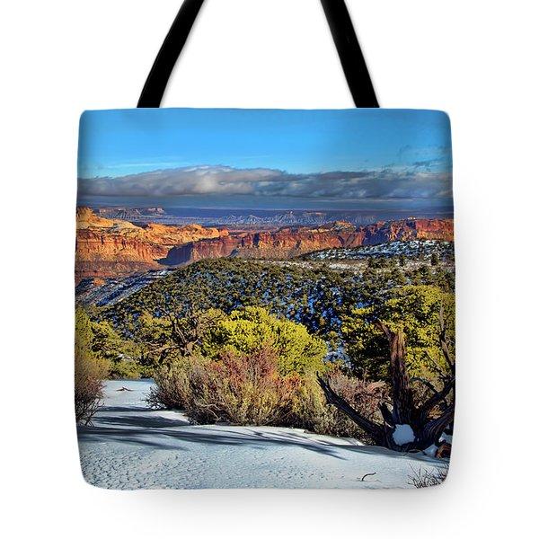 Capitol Reef National Park Tote Bag
