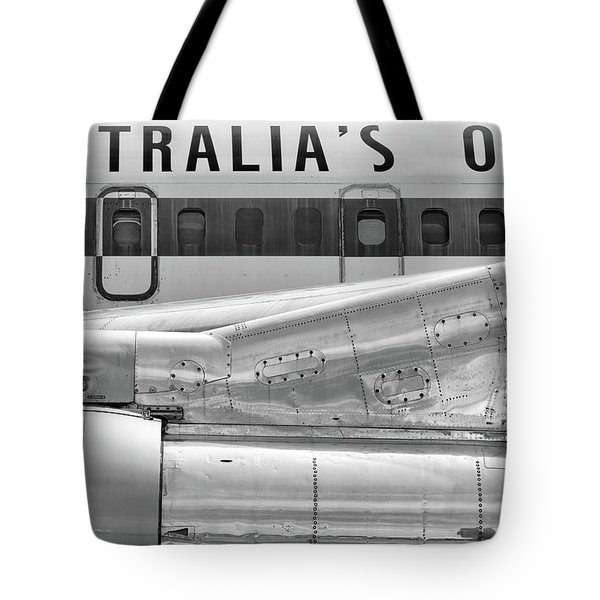 707 Nacelle And Fuselage Tote Bag