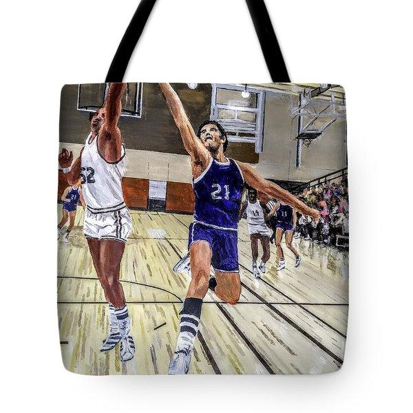 70's Layup Tote Bag