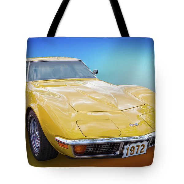 72 Corvette Tote Bag
