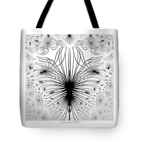 725 - The Spider Bug   Tote Bag by Irmgard Schoendorf Welch