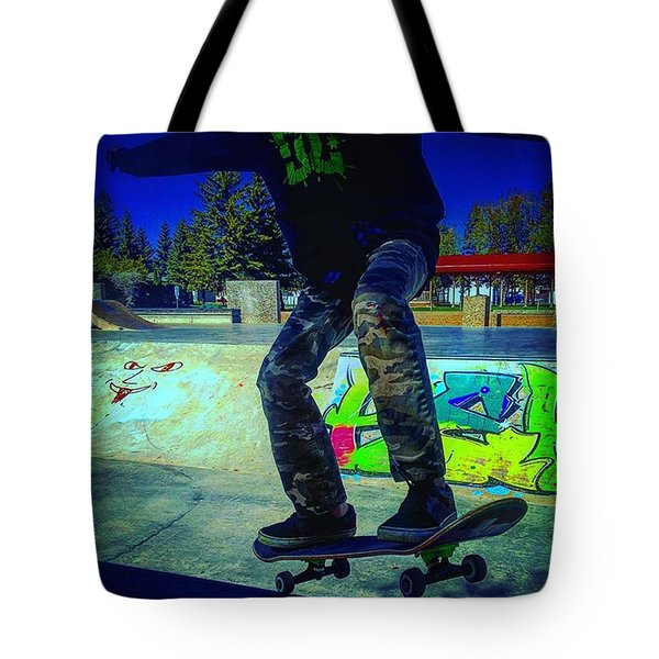 The Shred Kid Tote Bag